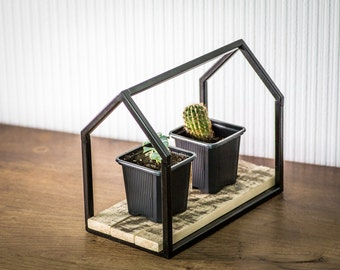 Wire frame plant pot holder stand candle holder lantern scandi minimalistic nordic House II Free Shipping