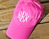Monogram Baseball Cap (Made to order)