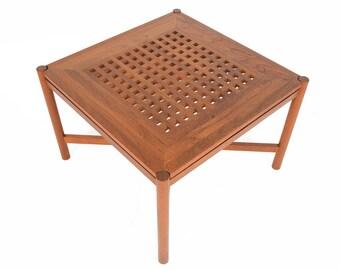 Danish Mid Century Modern Trip Trap Coffee Table