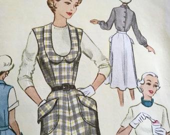 Vintage 1950 Pattern - Jumper  - Misses, Sz 16, Bust 34, McCalls 8262