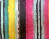 Striped Sheer Georgette Remnant