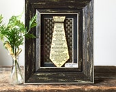 Anniversary Gift for Men - First Anniversary Gift - Personalized Gift for Husband - Paper Tie
