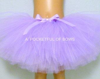 Lavender Tutu Skirt, Girls Lavender Tutu, Toddler Lavender Tutu, Birthday Tutu Skirt