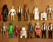 Star Wars action figures: the first 21