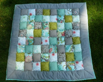 Tummy Time - Puff Quilt