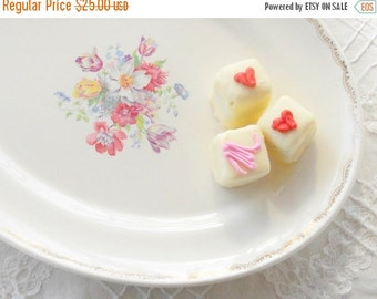 On Sale Vintage Good Housekeeping Morning Glory Cottage Style Platter, Tea Party, Wedding, Farmhouse, Housewarming Gift, Ca.1940's