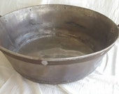 Vintage industrial tub , industrial beer tub , industrial ice chest , industrial planter , industrial log holder , vintage wash tub , boiler