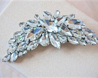 Rhinestone Hair Clip, Bridal Hair Clip, Wedding Hair Clip, Crystal Hair Clip, Bridal Hair Piece, Wedding Hair Piece, Rhinestone Hair Piece