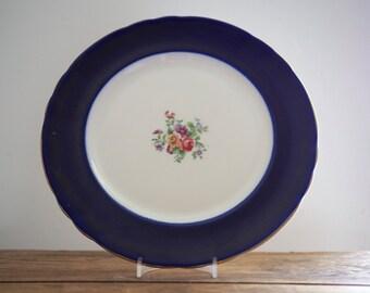 Pretty Vintage Bone China Plate