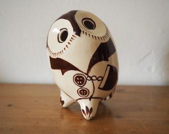 Owl Money Bank - Ceramic Owl
