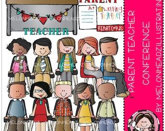 Parent Teacher Conference clip art - Combo Pack