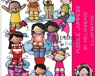 Puddle Jumpers clip art - COMBO PACK