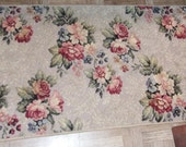 Harmony House Sears and Roebuck 27 x 48 Floral Rose Rug