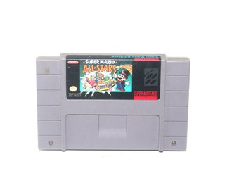 Vintage 1992 Super Mario Allstars Nintendo SNES, Nintendo Games, Vintage Toys, Antique Alchemy