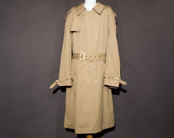 Men's trench coat / Guy Laroche / 42 regular