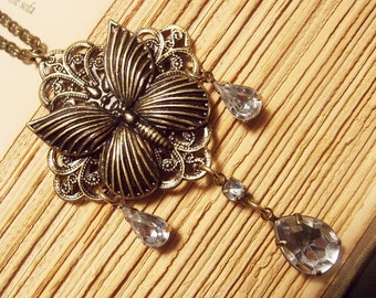 Victorian Butterfly Necklace