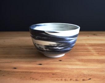 Marbleized Porcelain Bowl