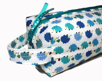 NEW boxy HEDGEHOGS pencil case