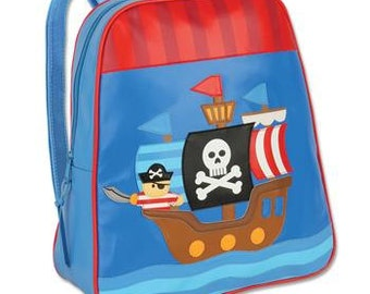 Personalized Stephen Joseph Go Go Pirate Backpack