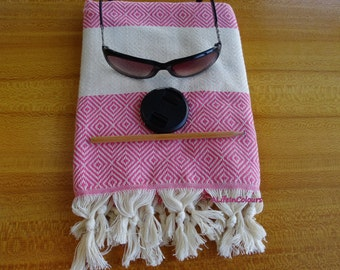 Natural soft cotton Turkish hand and face towel, kitchen towel, table napkin.