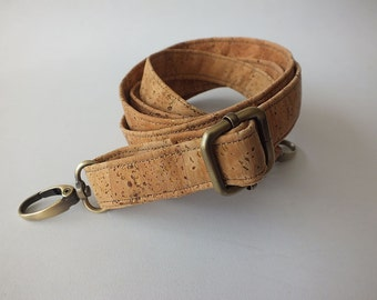 Cork strap / extra strap / detachable strap / adjustable strap