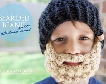 Bearded Beanie (with detachable beard)