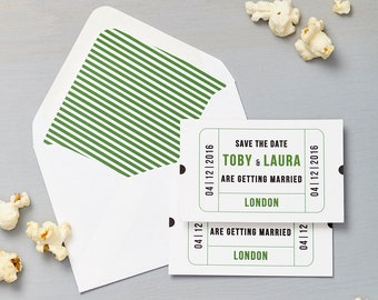 Cinema Green Save The Date