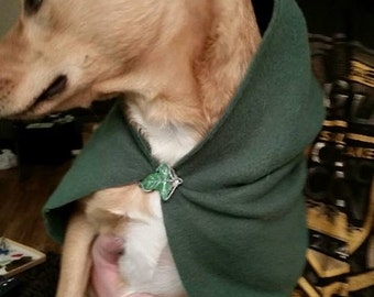 Lord of the Rings Inspired Pet Hoods and Capes.