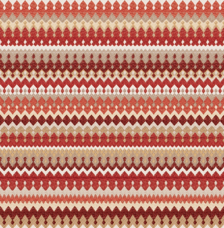 Coral woven upholstery fabric on sale modern red taupe for Upholstery fabric for sale