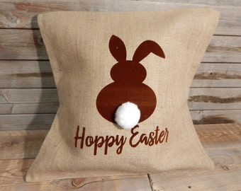 Hoppy Easter Pillow Cover..