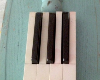 Piano Keys and Flute Headjoint Lamp