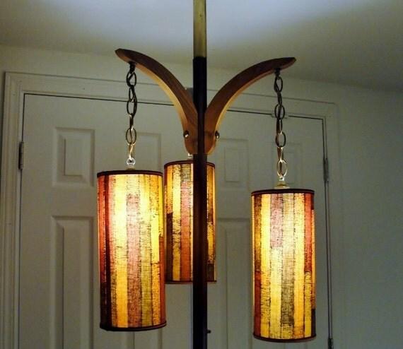 reserved for larkin mid century modern tension pole floor lamp. Black Bedroom Furniture Sets. Home Design Ideas