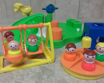 Fisher Price Little People Play Family Playground