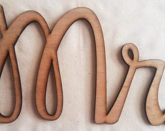 Mr. Wooden Sign