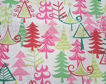 Yule Trees by Michael Miller Fabrics
