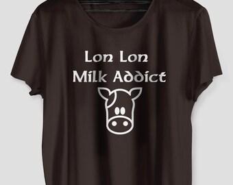 Lon Lon Milk Zelda Unisex Tshirt