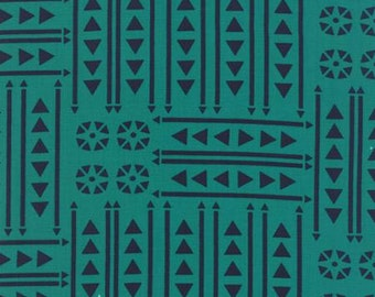 Valley Empire Teal Fabric for by Sherri & Chelsi for Moda 37512 17