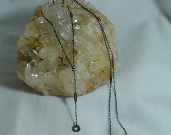 Lorgnette Chain ... Turn of the Century ... Delicate Chain Used To Suspend Watches, Lockets, Glasses, or other Items.