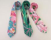 Lilly Pulitzer Fabric Necktie