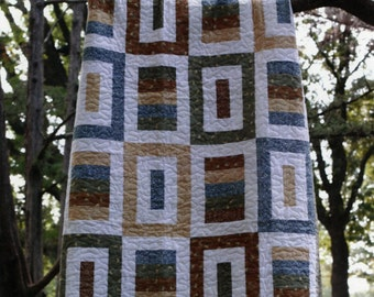 PATTERN:  SIMPLY PIECEFUL by Nite Owl Quilting - Baby, Twin, Full, Queen, King Quilt Pattern