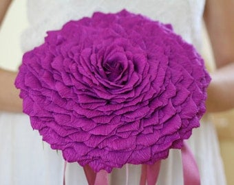 bridal shower paper glamelia giant flower wedding paper flowers bouquet paper bridesmaids blossom roses bridal bouquet bridesmaids bouquet