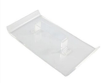 Large Acrylic Fondant Smoother- Straight Edged by Sugar Crafty