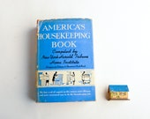 Vintage housekeeping book – retro household hints – bridal shower gift – home maintenance book