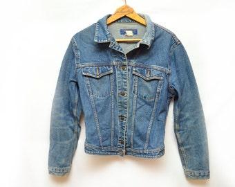 80s Jordache Denim Jacket Medium Wash Women's Medium