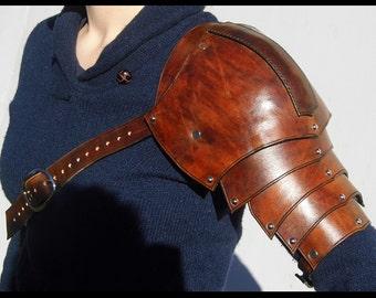 Leather Pauldron