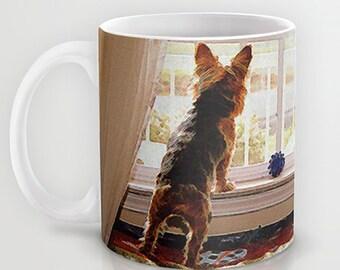 Coffee Mug Ceramic Mug Yorkie Yorkshire Terrier