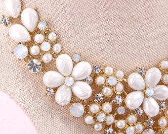 Wedding, Bridal Set, Necklace and Earrings, Style #268