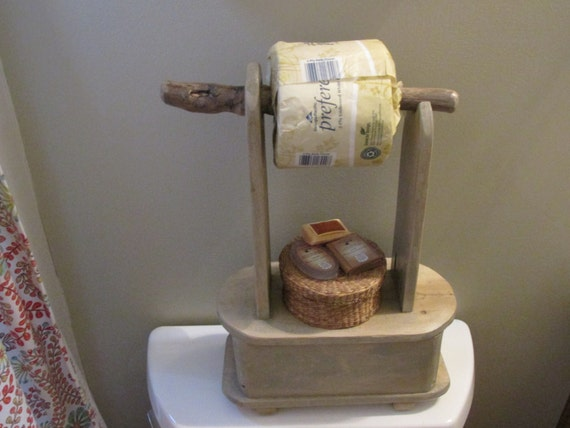 Stand Alone Toilet Paper Roll Holder By Bluebirdshop1 On Etsy