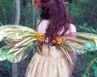 Fabulous realistic fairy wings