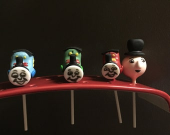 Thomas The Train and Friends Cake Pops
